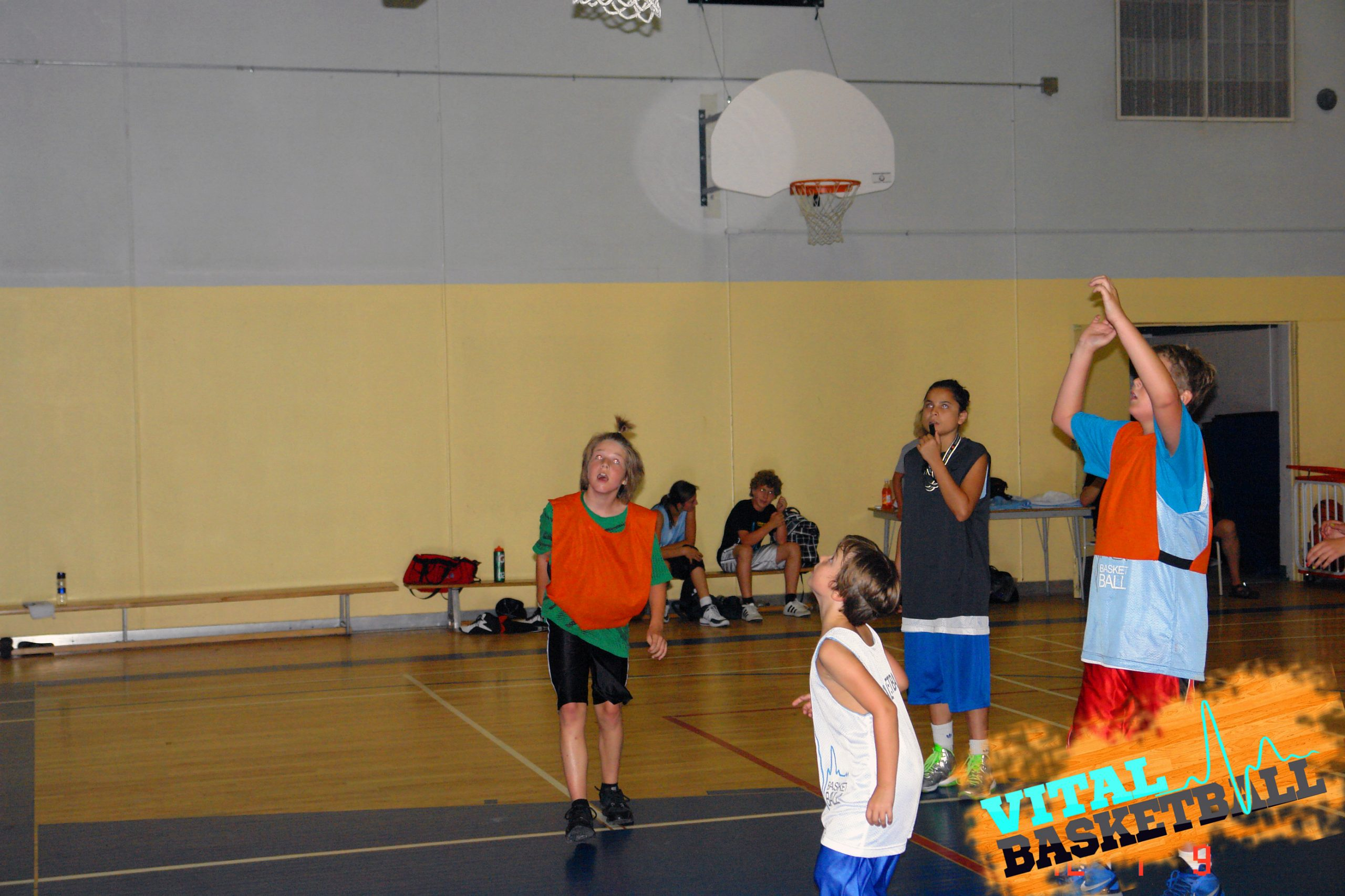 Camp développement, basketball