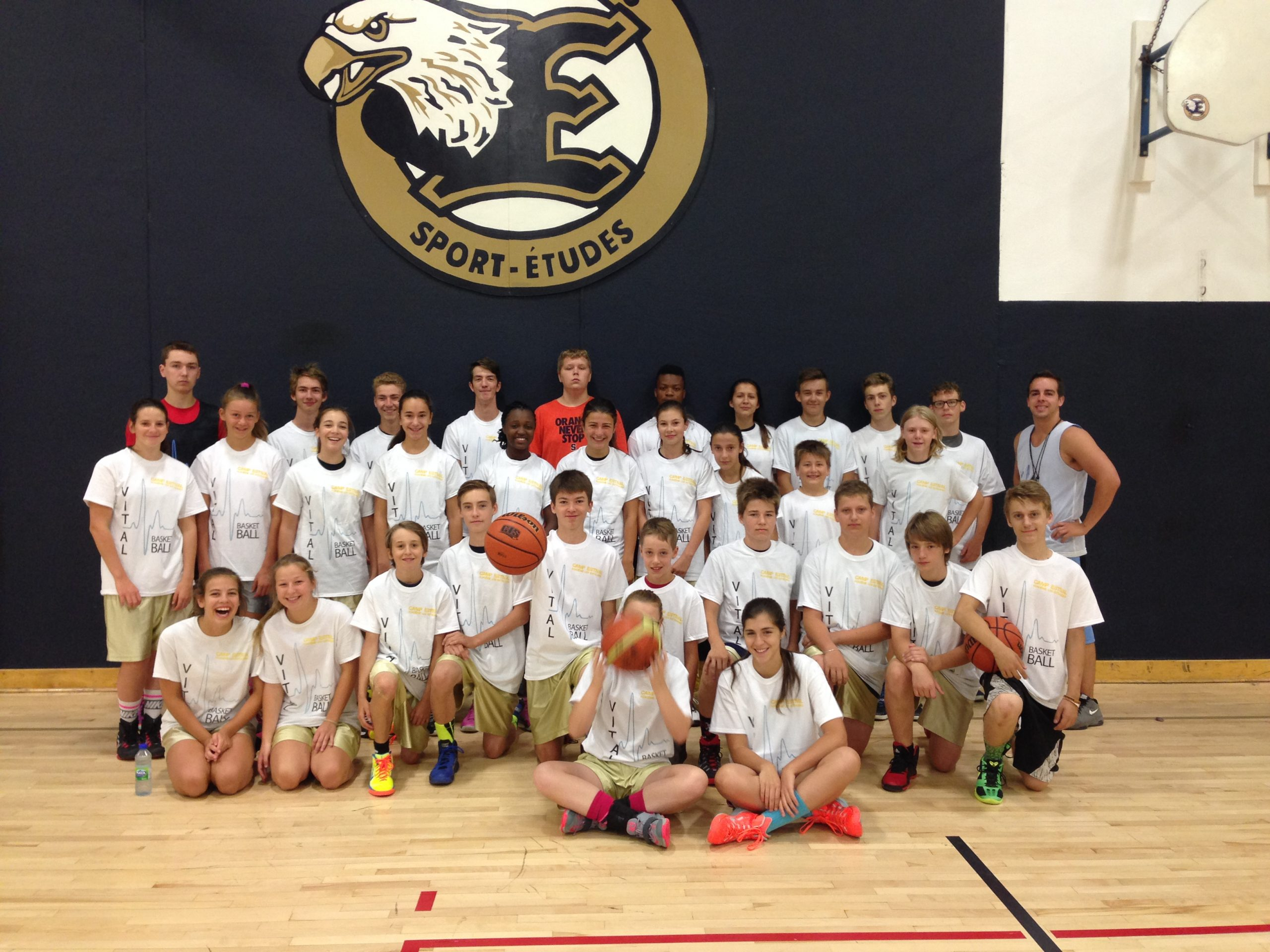 Camp basketball VITAL - Édition 2015