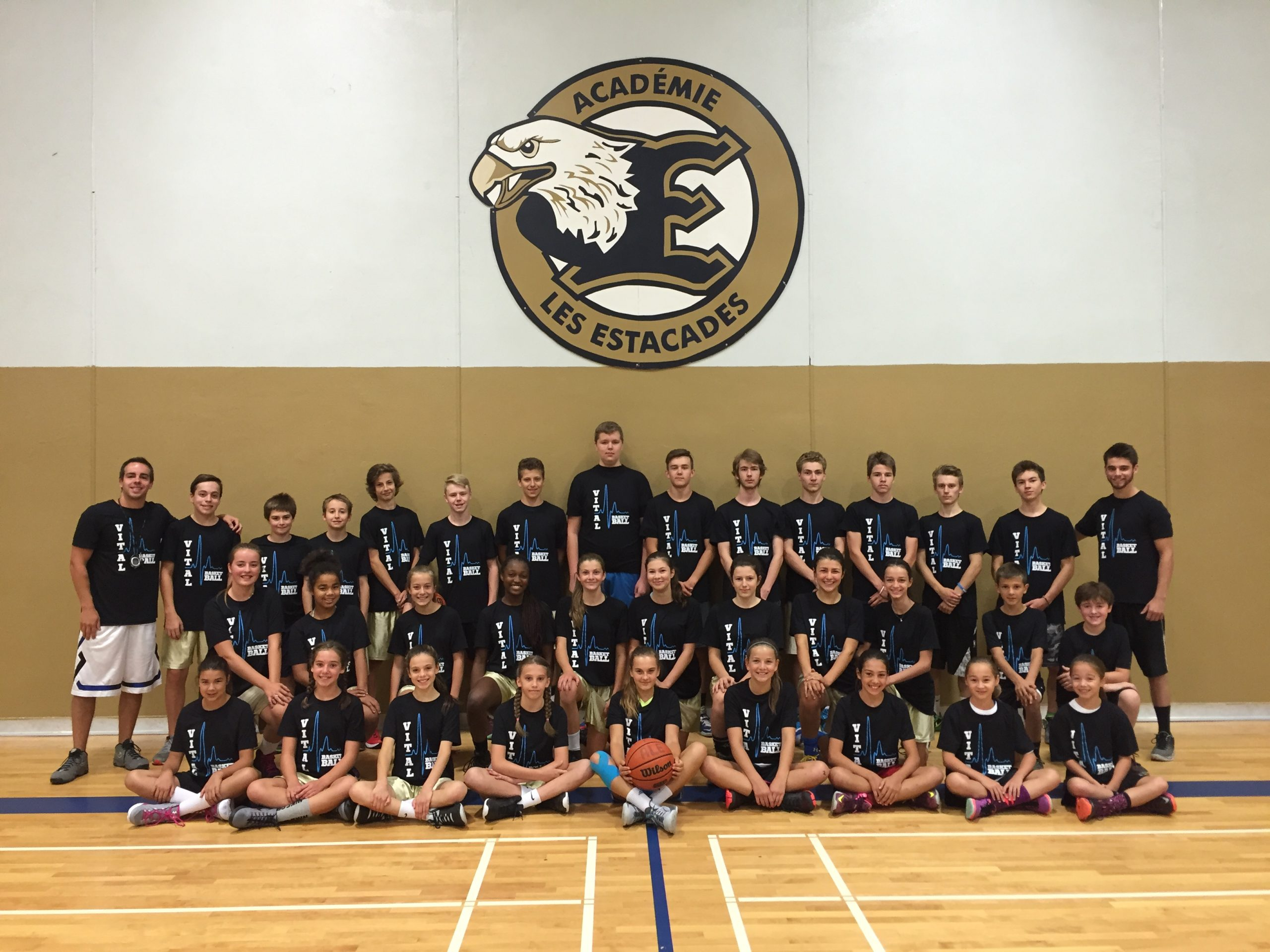 Camp basketball VITAL - Édition 2016